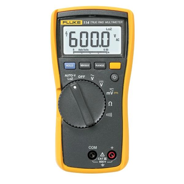 FLUKE 114 Electrical Multimeter - Test Equipment