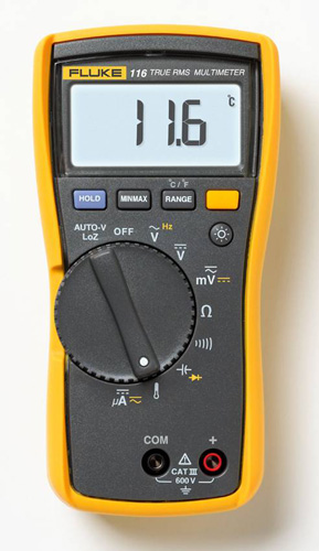 How To Use Clamp Meter 362 Fluke To Measure Ac And Dc Voltage
