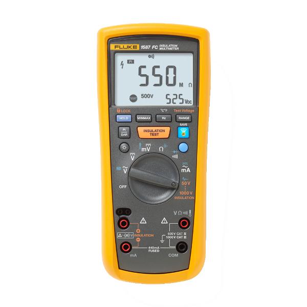 FLUKE 1587 FC Insulation Multimeter - Test Equipment
