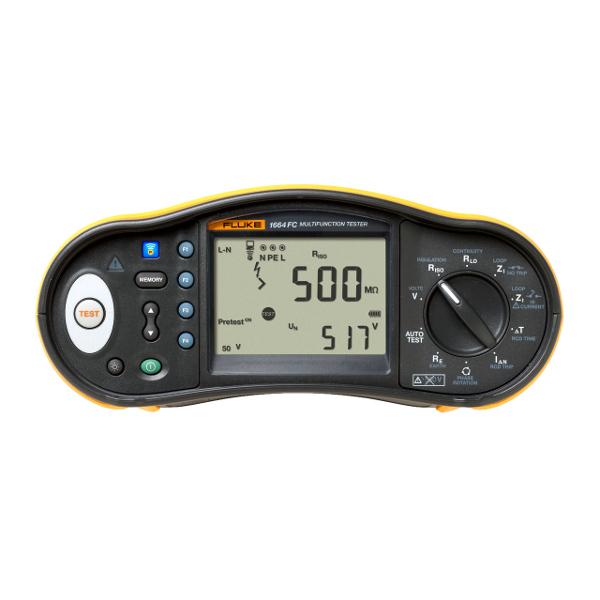 Fluke 1664 FC Multifunction Installation Tester - Test Equipment