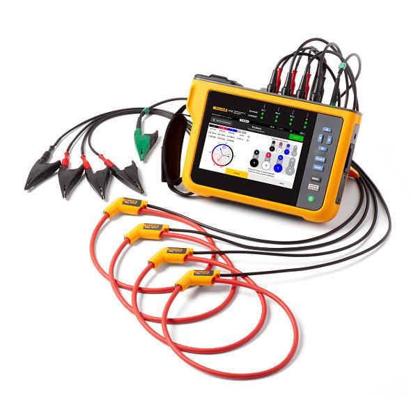 FLUKE 1773 Three-Phase Power Quality Analyser With Flexi