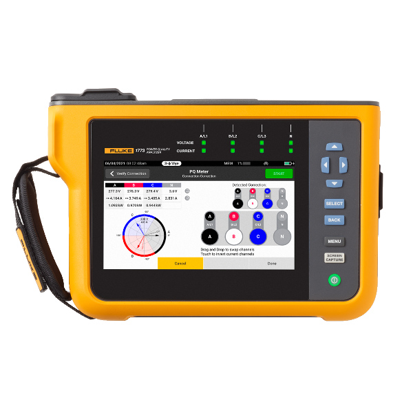 FLUKE 1773 Three-Phase Power Quality Analyser (Basic)
