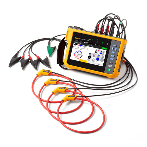 FLUKE 1777 Three-Phase Power Quality Analyser Flexi