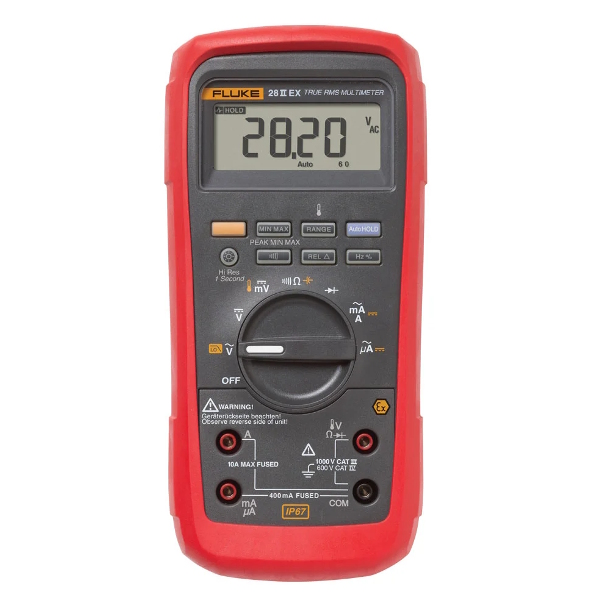 FLUKE 28 II Ex Intrinsically Safe Digital Multimeter