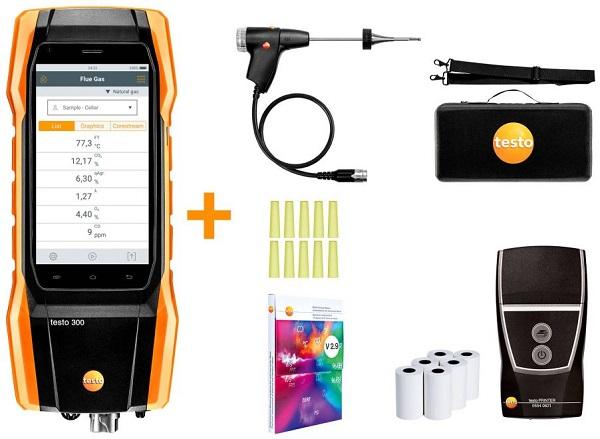 Testo 300 Domestic Flue Gas Analyser (NOX Kit) photo