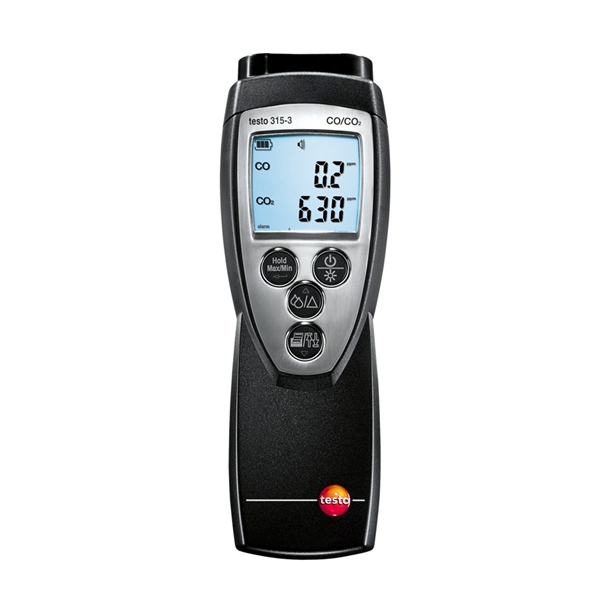 Testo 315-3 CO and CO₂ Meter for ambient measurements