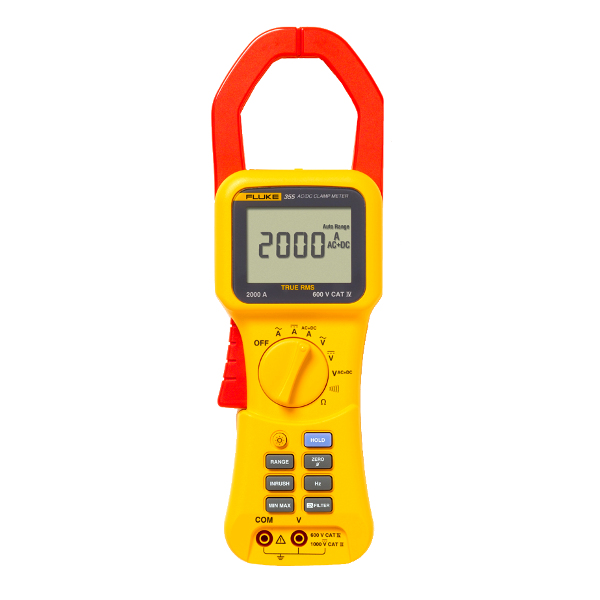 FLUKE 355 True-rms 2000 A Clamp Meter
