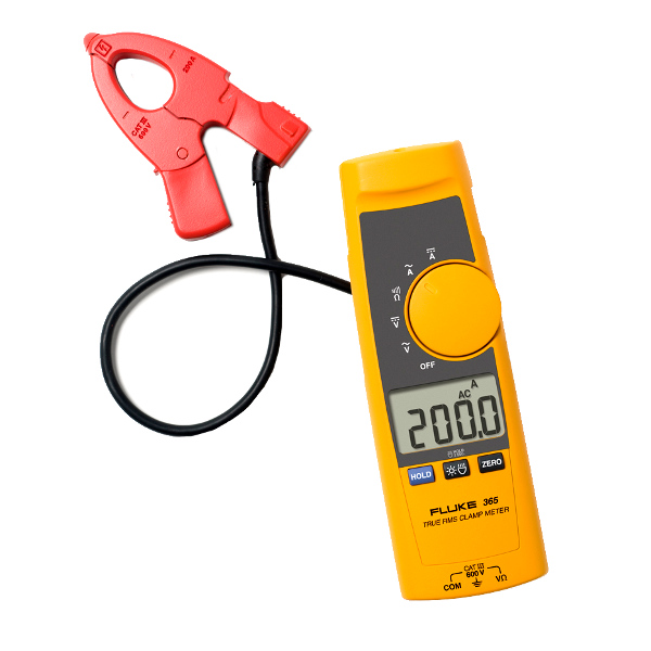 FLUKE 365 AC/DC TRMS Clamp Meter with Detachable Jaw