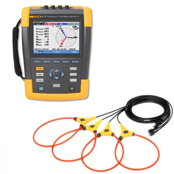FLUKE 434-II Power Quality Energy Analyser - Test Equipment