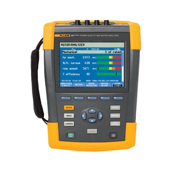 FLUKE 438-II Power Quality and Motor Analyser - Test Equipment
