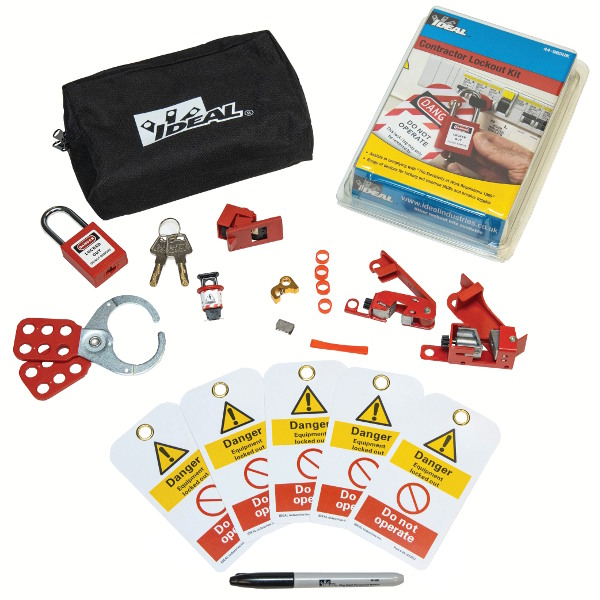 Ideal 44-985UK Contractor Lock Out / Tag Out Kit