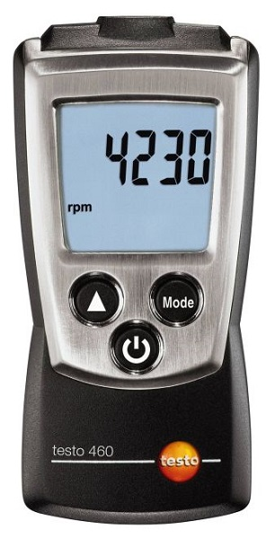 Testo 460 Compact Optical RPM Meter - Test Equipment