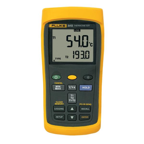 FLUKE 54 II Dual Input Digital Thermometer
