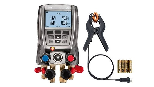 Testo 570 Refrigeration Manifold Kit