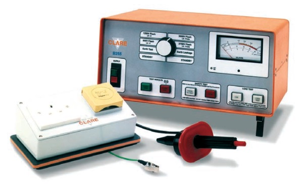 Safest Home Electrical Tester : Clare b comprehensive power tool pat testers