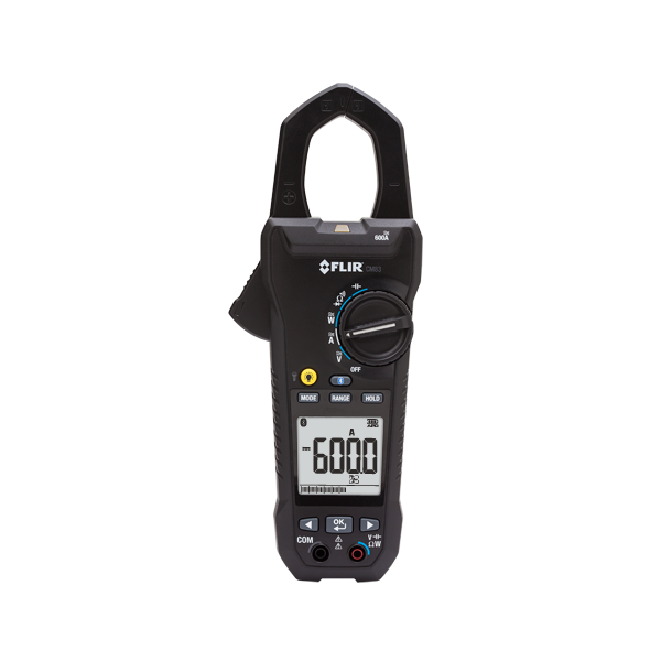 Clamp Meter How Much : Flir cm a power clamp pq analysers
