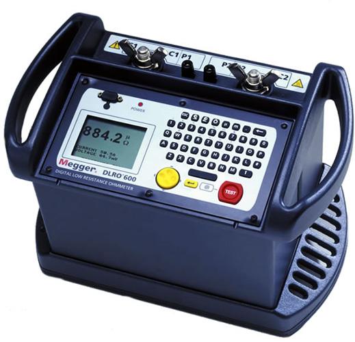 Megger DLRO600 Ducter Digital Low Resistance Ohmmeter