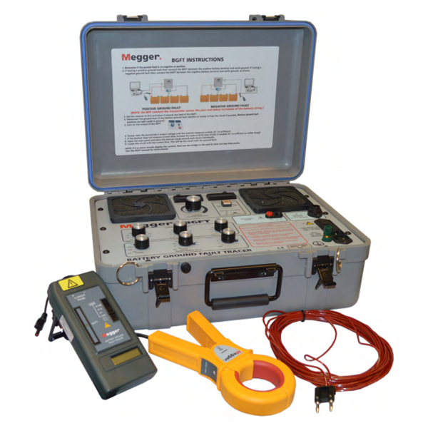 Ground Fault Locator : Megger dual range battery ground testers