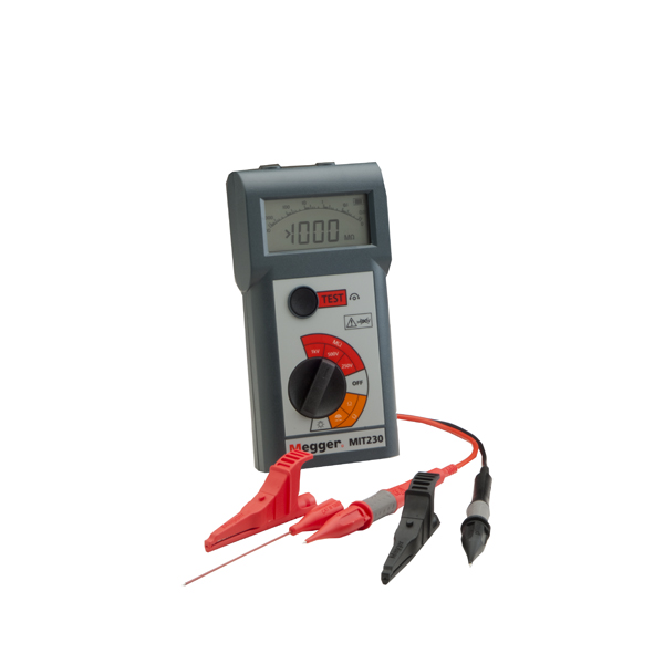 Megger MIT220 Insulation and Continuity Tester