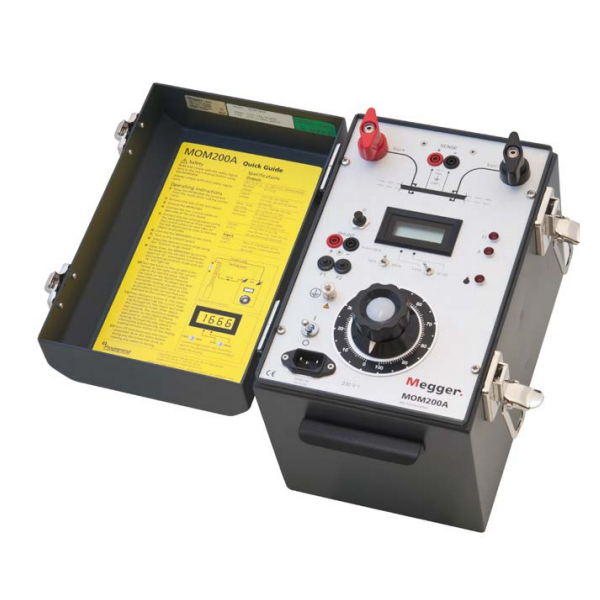 Megger MOM200A Micro-Ohmmeter