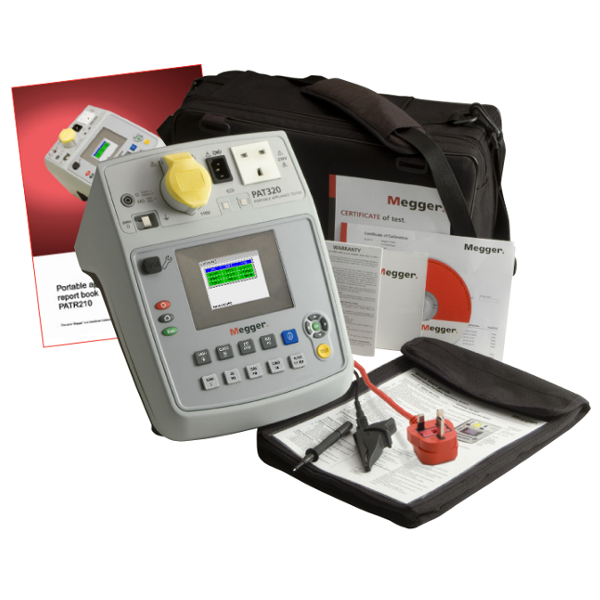 PAT 320 Business in a Box PAT Tester inc  PAT Testing and Marketing Guide