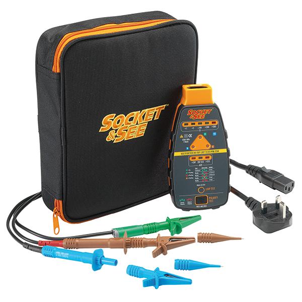 Socket & See PDL234 Plus Part P Loop Testing Kit