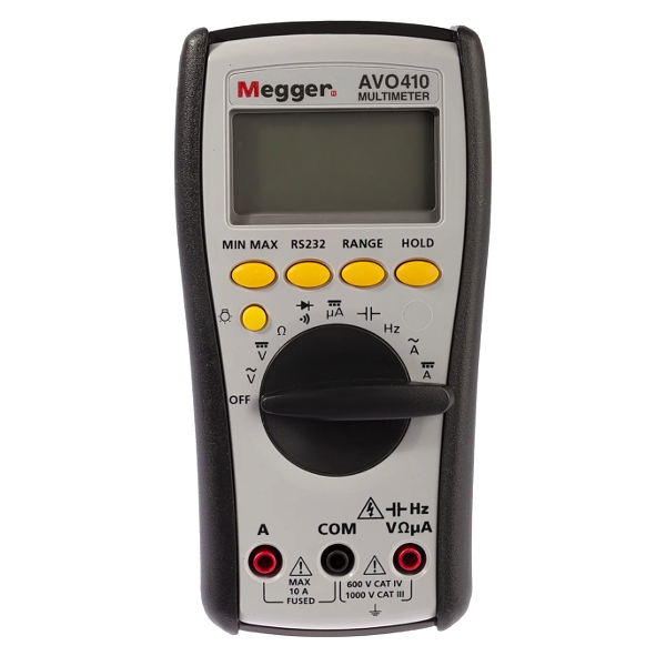 Megger AVO410 Electricians True-RMS Multimeter