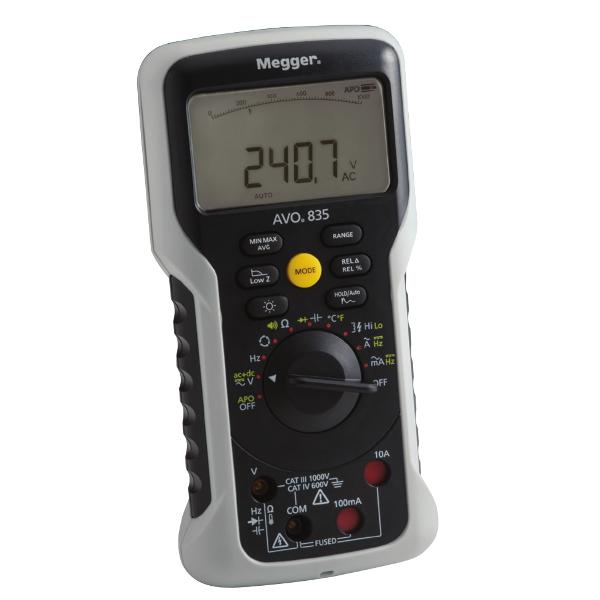 Megger AVO830 Digital True-RMS Multimeter