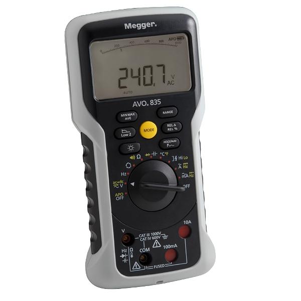 Megger AVO835 Digital True-RMS Multimeter