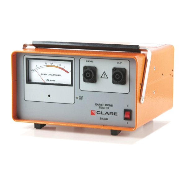 Clare B433R Stand Alone Earth Bond Tester