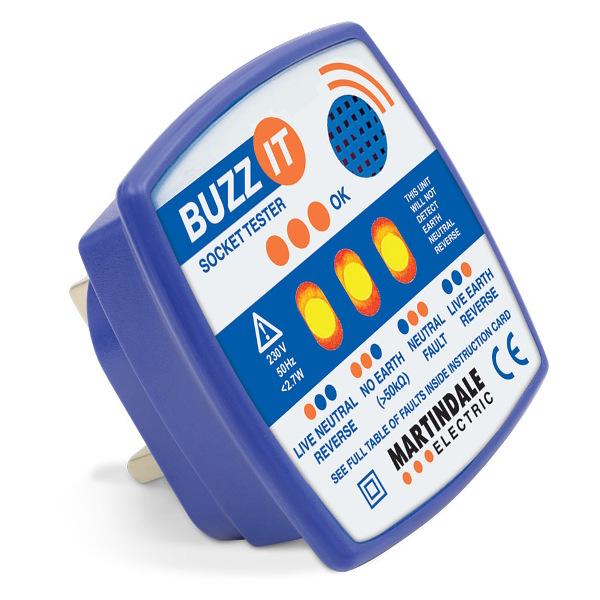 Martindale BZ101 Buzz-It Socket Tester