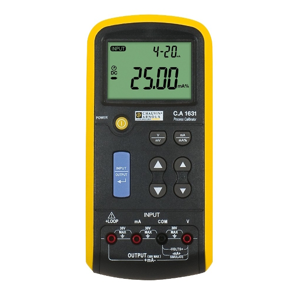 Chauvin Arnoux CA1631 Calibrator For Voltage/Current Process-Signal