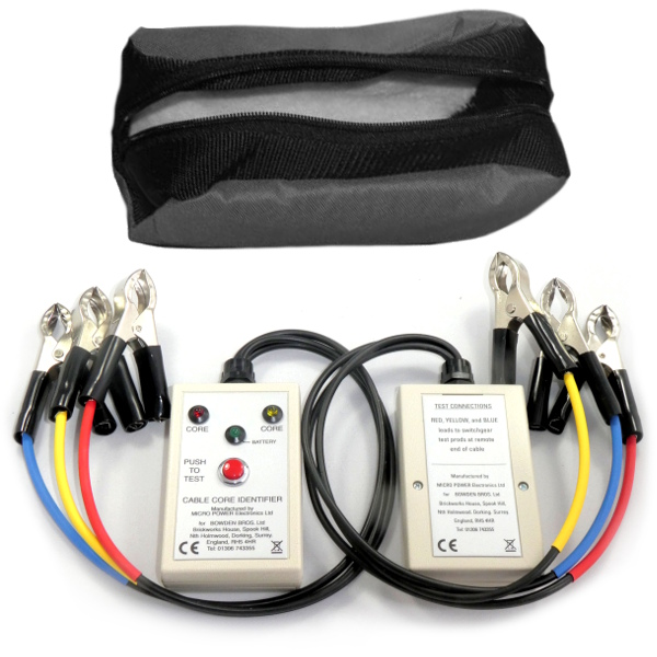Bowdens Cable Core Identifier - Test Equipment