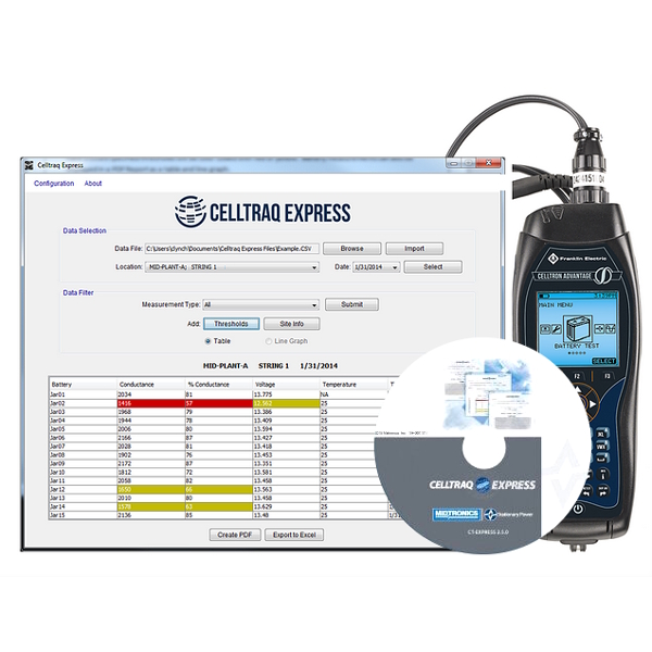 Midtronics Celltraq Express Software
