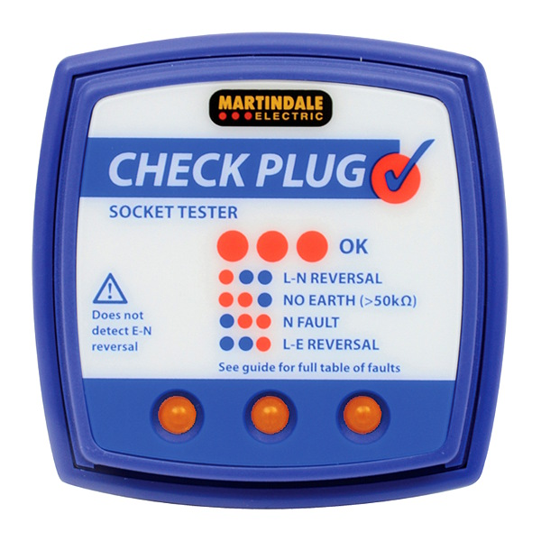 Martindale CP501 Check Plug Socket Tester