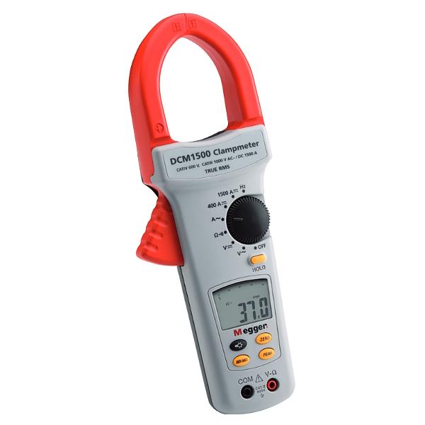 Megger DCM1500 1500 A TRMS AC / DC Clamp Multimeter