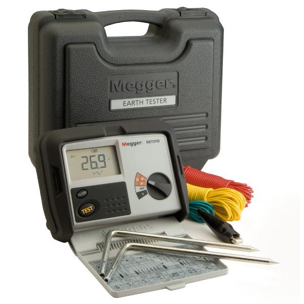Megger DET3 Test Equipment