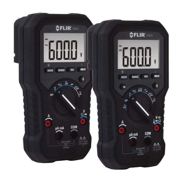 FLIR DM62 True RMS Digital Multimeter