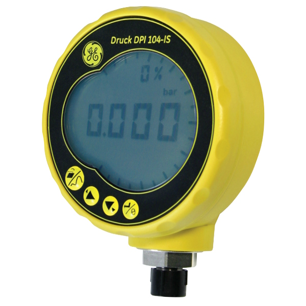 Druck DPI 104IS Intrinsically Safe Digital Pressure Gauge (0 - 20 bar)