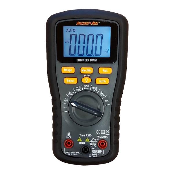 Socket & See Engineer DMM Digital Multimeter - Test Equipment