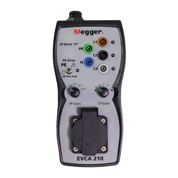 Megger EVCA210-UK Electric Vehicle Charge-Point Adaptor