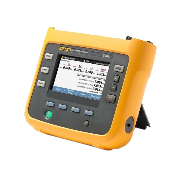 Fluke 1734 Three Phase Electrical Energy Logger - Test Equipment