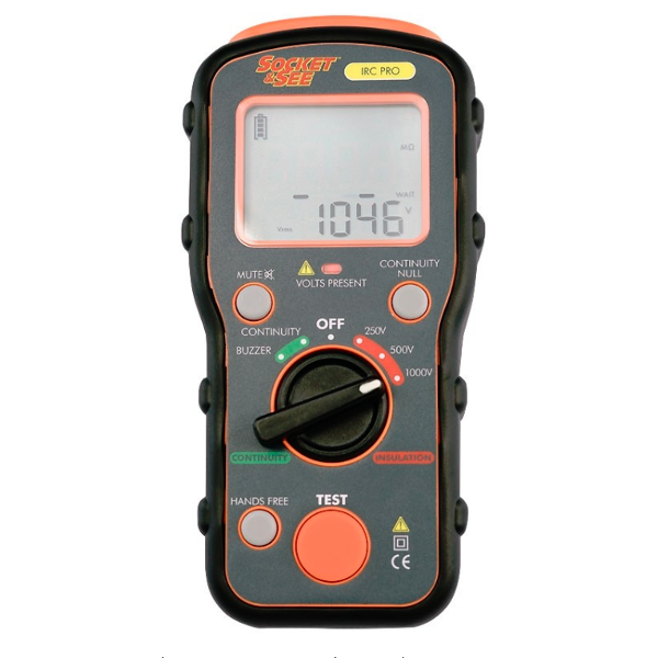 Socket & See IRC PRO Insulation and Continuity Tester