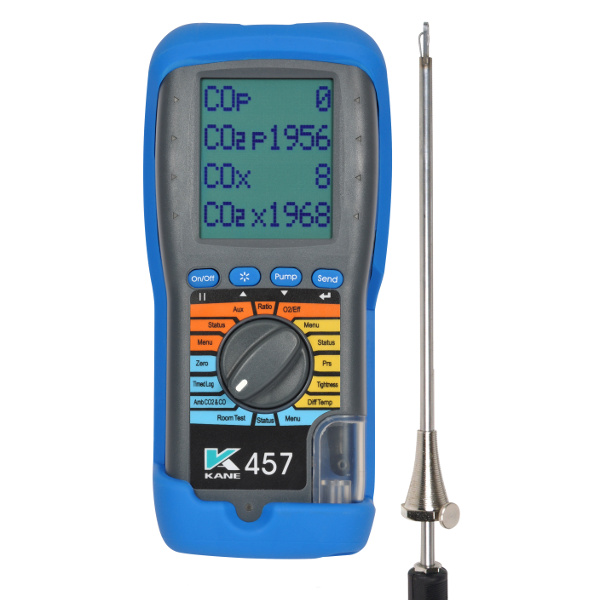 KANE 457 Flue Gas and Ambient Air Analyser