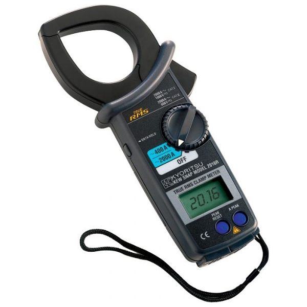 Kewtech KEW2016R TRMS Digital AC 2000A Clamp Meter - Test Equipment