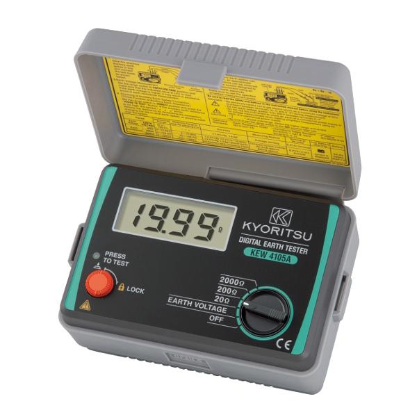 Kewtech KEW4105A Digital Earth Resistance Tester
