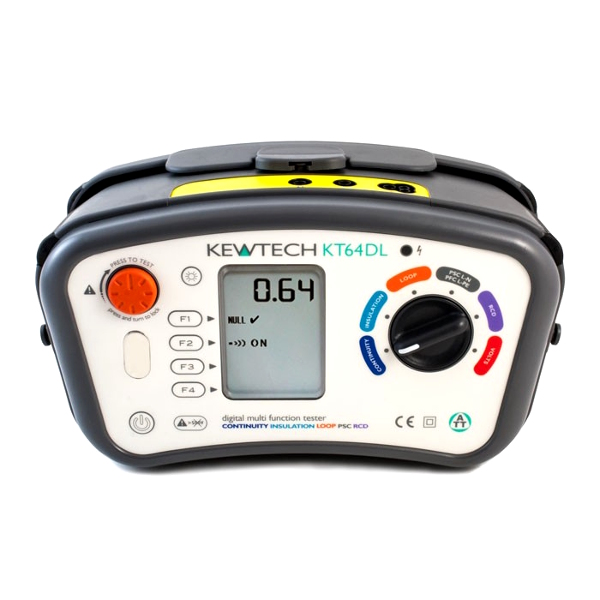 Kewtech KT64DL Multifunction Tester - Test Equipment
