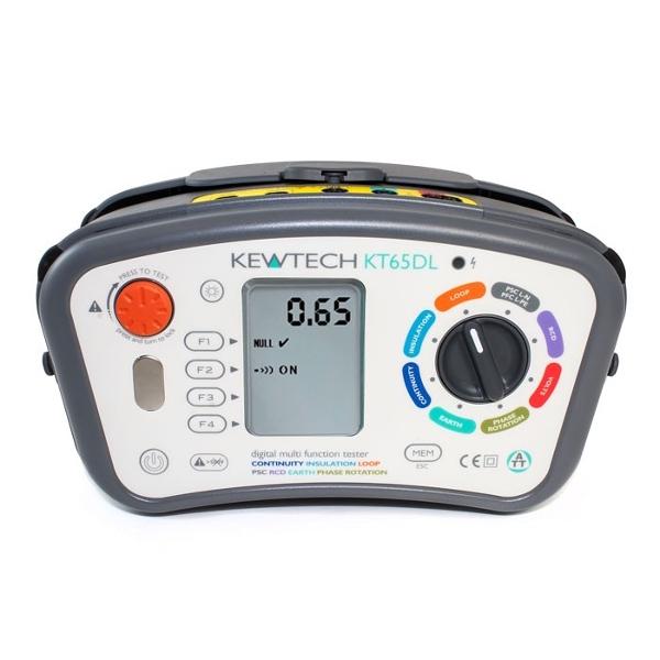 Kewtech KT65DL Multifunction Tester