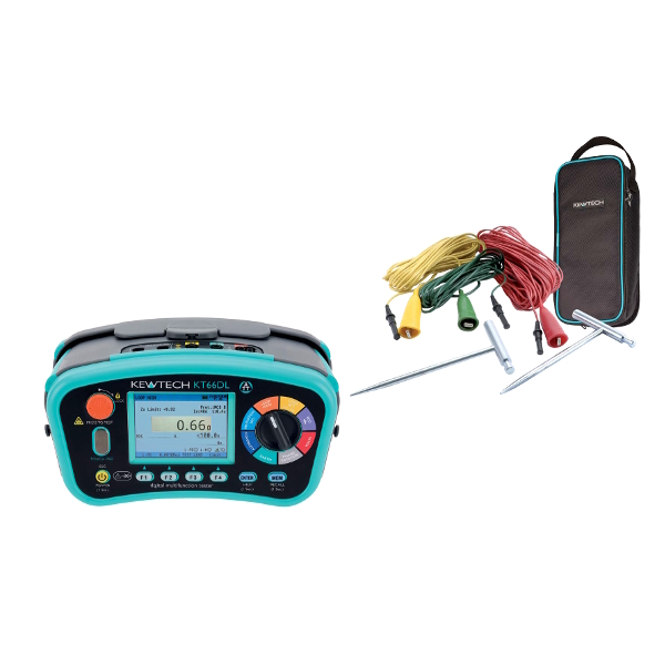 KT66DL Multifunction Tester with Earth Spike