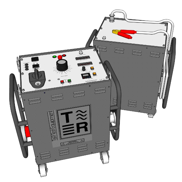 T&R Test Equipment KV AC Test Trolley - Test Equipment